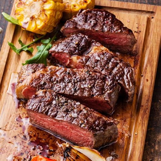 20 x 6-7oz Rump Steaks and Seasoning