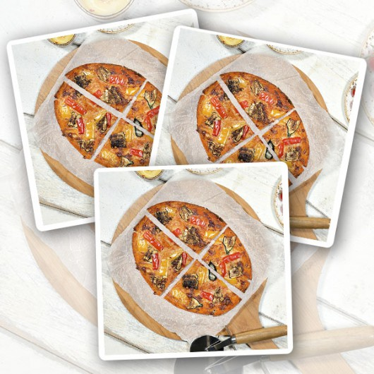 Goats Cheese Diet Pizza - 3 Pack