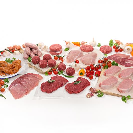 Great Tasting Lean Meat Hamper - 57 Pieces