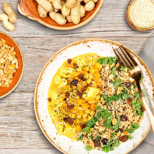 Vegan Chickpea Curry - 16g Protein