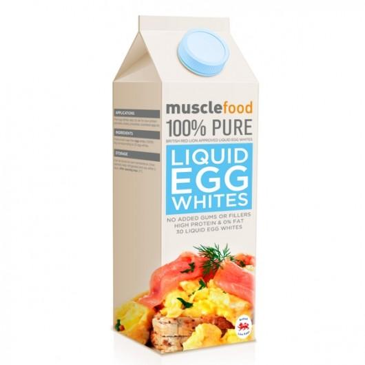 Fresh Liquid Egg Whites - 1 Litre Carton
