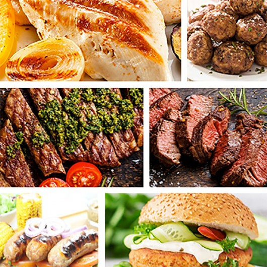 56 Piece Lean Meat Selection
