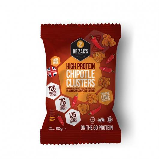 Dr Zaks Chipotle Protein Crisp Clusters- Box of 12