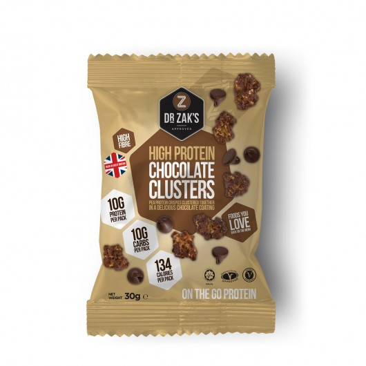 Dr Zaks Chocolate Protein Crisp Clusters