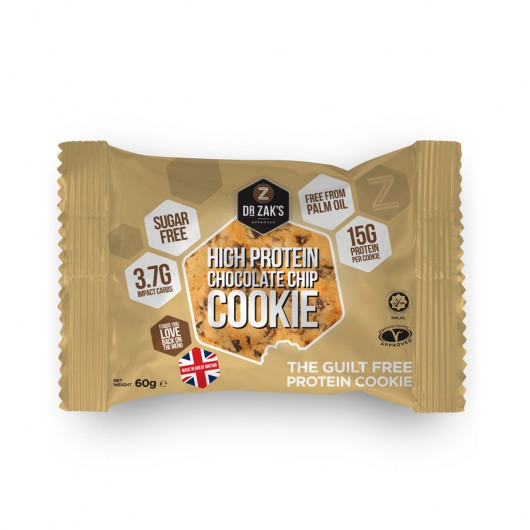 Dr Zaks Chocolate Chip High Protein Cookie