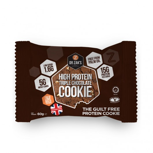 Dr Zaks Triple Chocolate High Protein Cookie