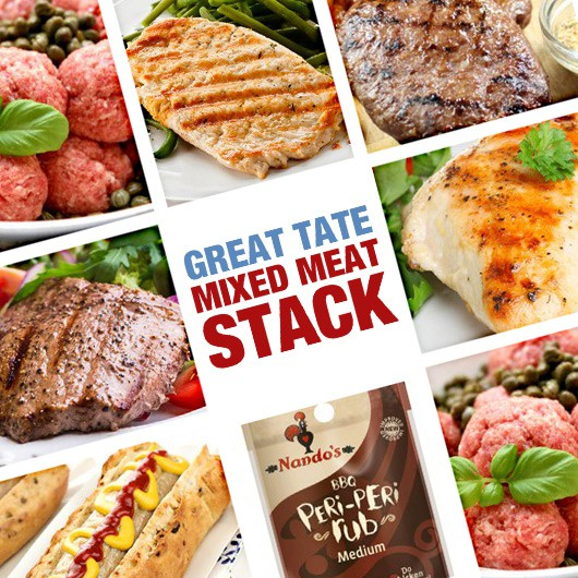 Great Taste Mixed Meat Stack