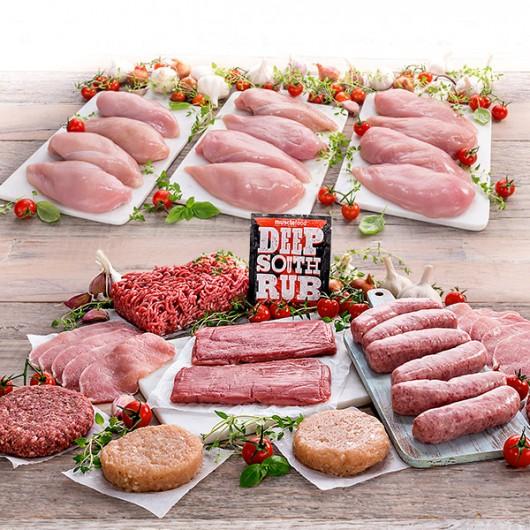 2.5kg Chicken + 24 Piece Stunning Meat Hamper