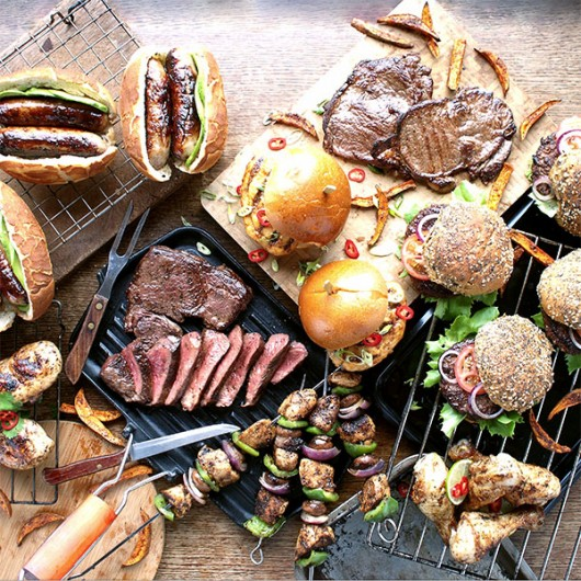 53 Piece Summer BBQ Selection