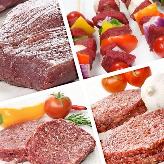 Exotic Steak Selection