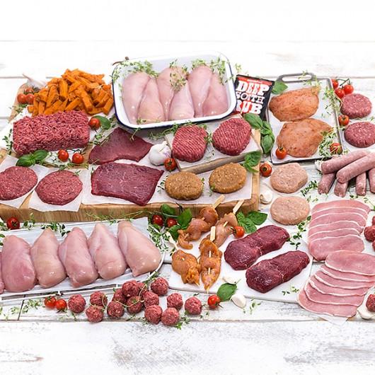 71 Piece August's Bestselling Meat Hamper + 2.5kg