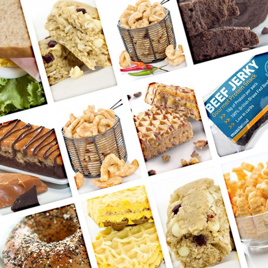 Ultimate High Protein Snack Hamper-Groupon