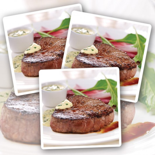 10 x 170g Free Range Centre Cut Steaks