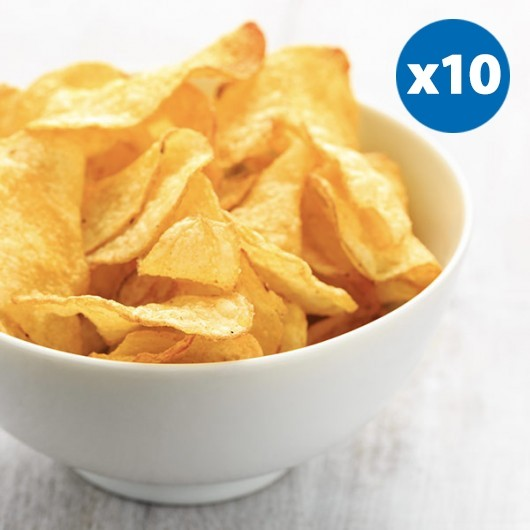 10 x Cheese and Onion 12g Protein Crisps-10 x Bags