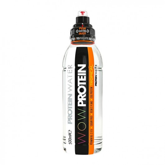 WOW 20g Protein Water - Tropical 6 x 500ml
