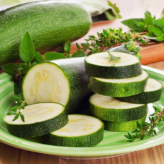Sliced Courgettes - 500g