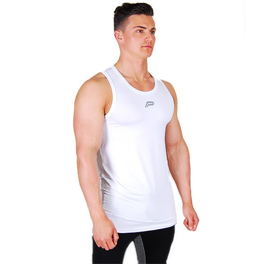 Pursue Fitness BreathEasy Tank 2.0 - White/Grey