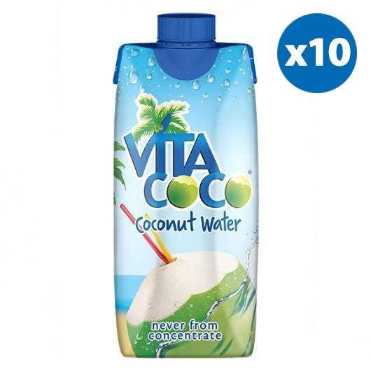 Vita Coco Coconut Water - 10 x 330ml