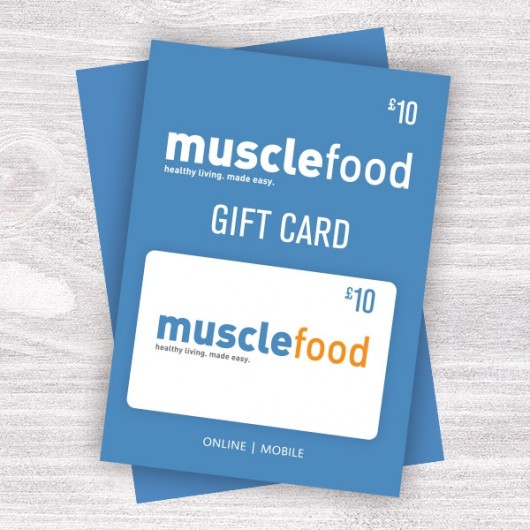 Muscle Food Gift Vouchers - £10