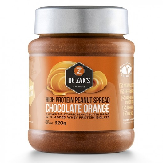 Dr Zaks Chocolate Orange Peanut Butter - 320g