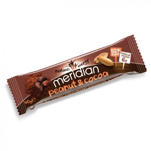 Meridian Peanut and Cocoa Bar