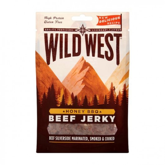 Wild West High Protein Honey BBQ Jerky
