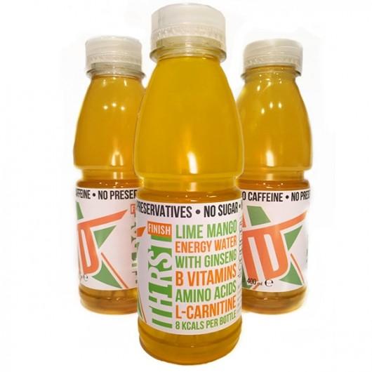 Th1rst Mango & Lime Sugar Free Energy Water - 6 Bottles