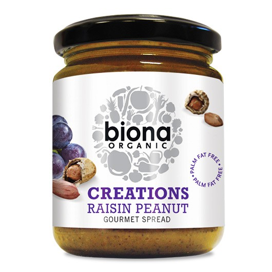 Biona Raisin Peanut Butter