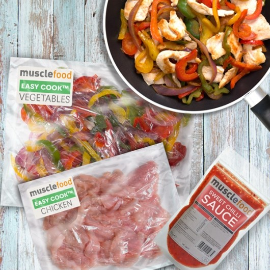 Easy Cook™ Naked Chicken Stir-Fry And Sweet Chilli Sauce