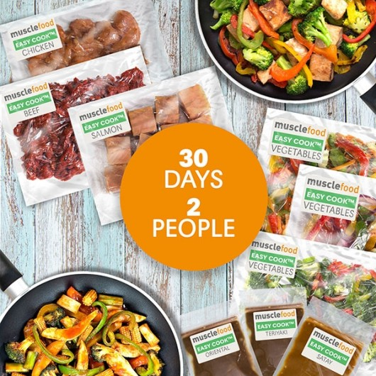 Clean Eating Dinner For 30 Days - 2 Person