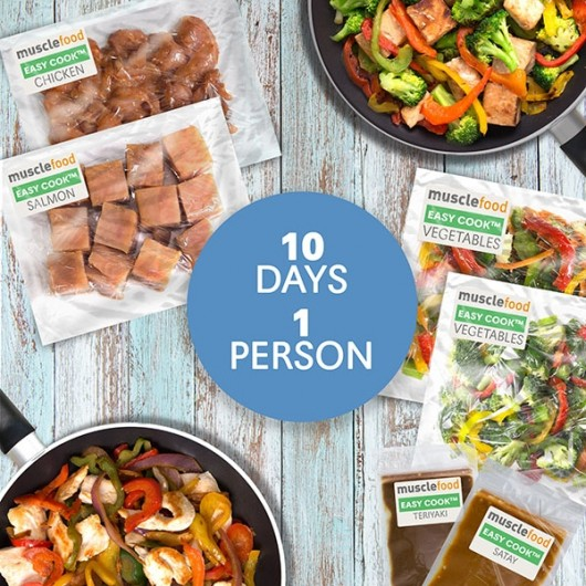 Clean Eating Meals for 10 Days - 1 Person