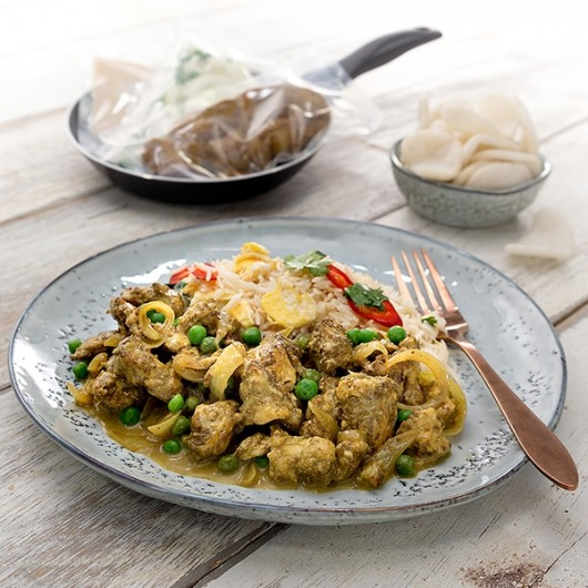 Low Fat Chinese Style Chicken Curry - 2 portion