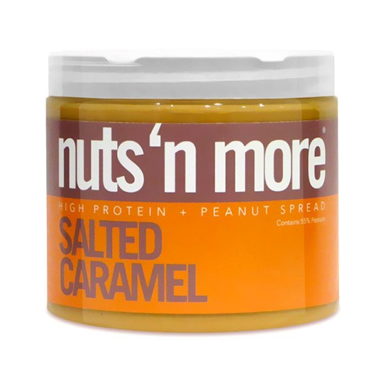 Nuts 'n More Salted Caramel Peanut Butter - 454g