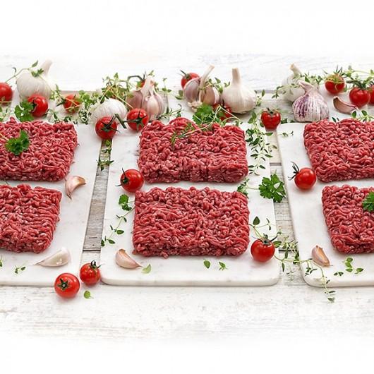 6 x 200g Extra Lean Free Range Steak Mince