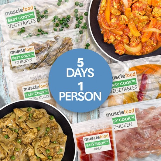 Clean Eating Curry Dinner For a Week - 1 Person
