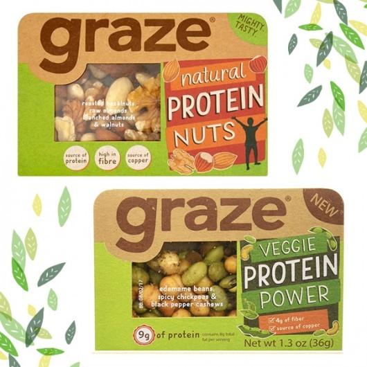 Graze Veggie Protein Mixture - 6 Pack