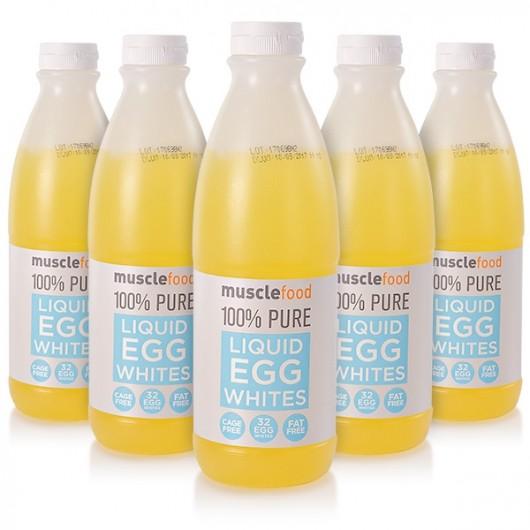 Cage Free Liquid Egg Whites - 6 x 1 Litre