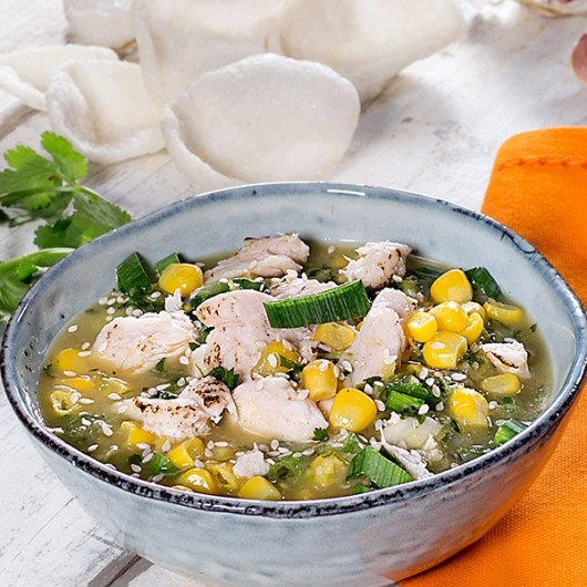 Chinese Chicken & Sweetcorn Soup - 400g