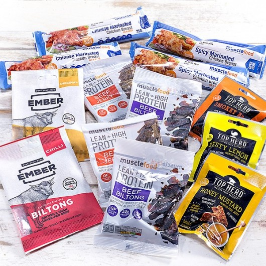 Biltong/Jerky/Meaty Snack Bundle