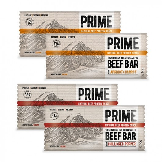 Prime Beef Protein Snacks - 13g Protein - 4 Bars