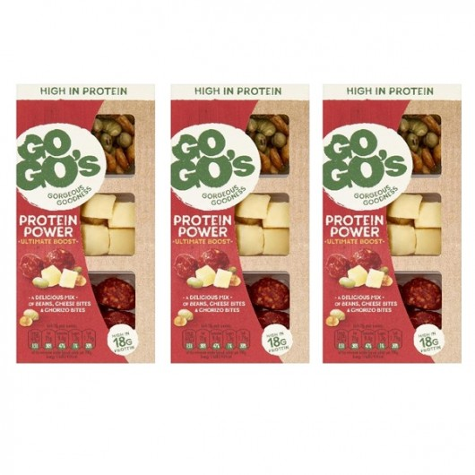GoGo's Power Ultimate Boost Cheese Snack - 3 x 70g