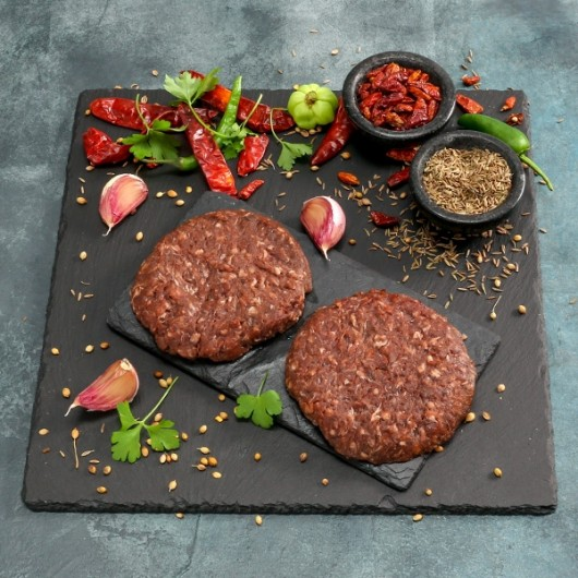 Buffalo & Caramelised Onion Burger - 2 x 110g