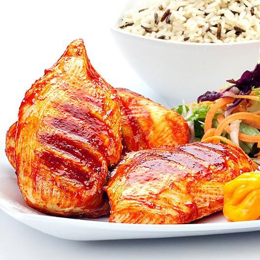 1kg Dragons Fire Glazed Chicken Breasts