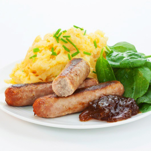 12 x 66g Virtually Fat Free Cumberland Sausages