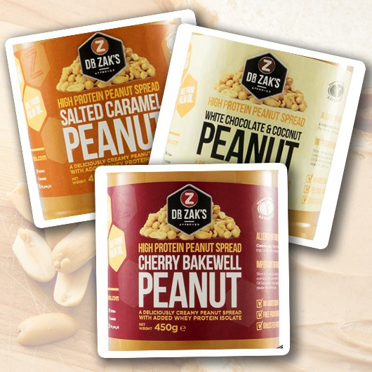 Dr Zak's Protein Peanut Butter Variety Pack (3)