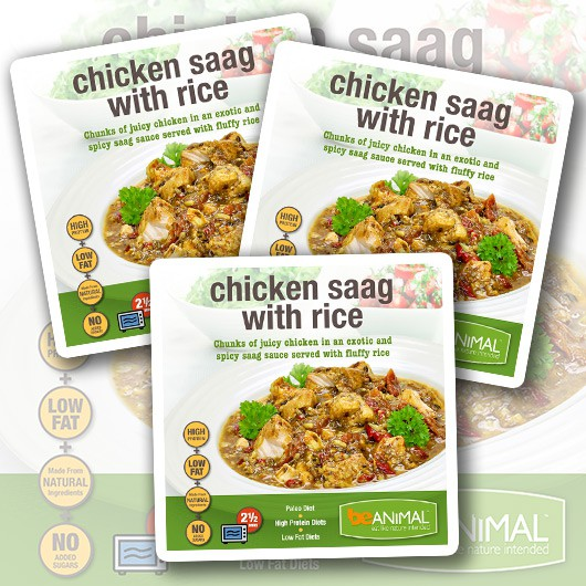 Chicken Saag with Rice - 6 Meals
