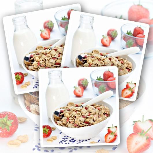 Strawberry Protein Crunchies