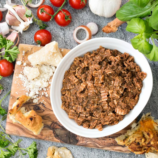 High Protein Beef Bolognese with Pasta