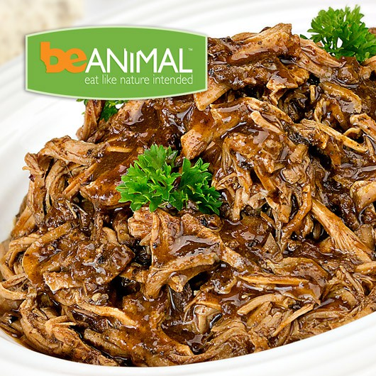 Pulled Pork with Adobo Sauce - 64g Protein