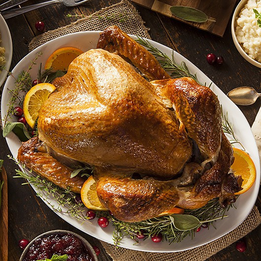 Luxury 3-3.5kg Easter Turkey with Gravy and Apple, Sage and Onion Stuffing